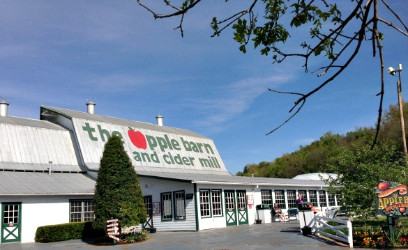Pick up cute apple-themed souvenirs at the Apple Barn and Cider Mill in Sevierville, Tennessee