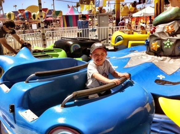 Kids get motion sickness too