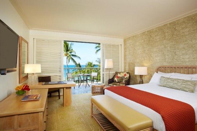 Hupana Beach Prince Hotel room, Hawaii