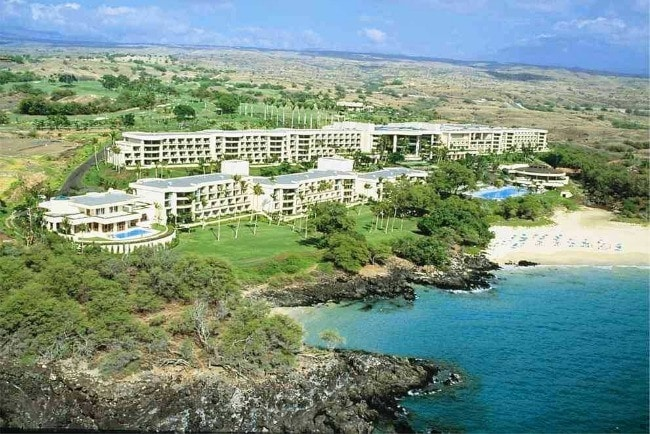 Hotel On Hapuna Beach Island Hawaii