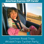 Summer Road Trips Twitter Party with $400 in American Express Gift Cards Giveaway!