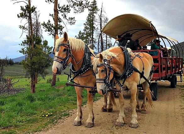 Keystone Wagon Ride Dinner ~ Keystone Ski Resort in Summer