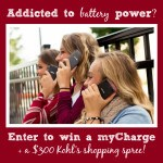 myCharge Giveaway + $300 Kohl's Shopping Spree
