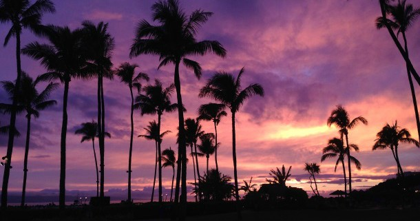 Hawaiian Sunset - Sheraton Maui Resort & Spa