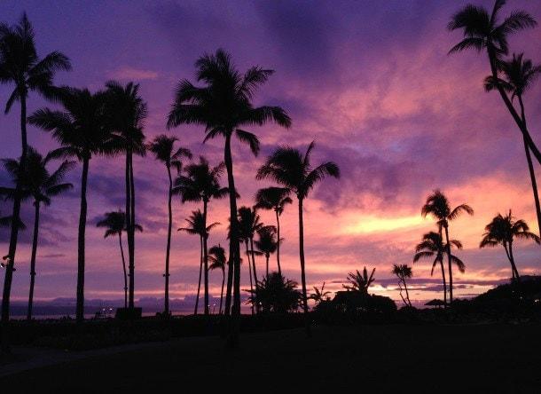 Hawaiian Sunset - Sheraton Maui Resort & Spa