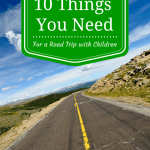 Road Trip with Children Packing List for Safety and Sanity