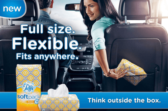 Puffs Softpack - Perfect for a road trip with children!