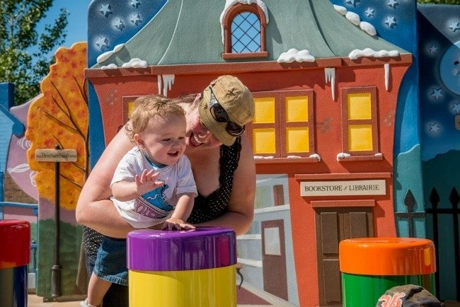 5 Fun Things to Do in Winnipeg with Kids - It's easy to get into the groove at the Variety Heritage Adventure Park at the Forks(Photo credit: Parks Canada)