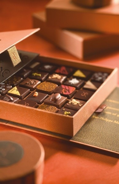 The Aria's Jean Philippe Patisserie chocolates are as delicious as they are beautiful
