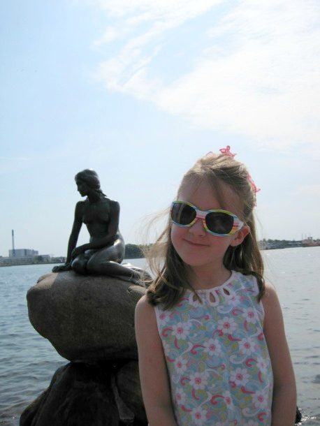 My 6 year-old meets the Little Mermaid
