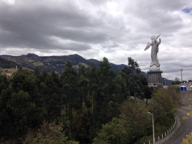 Panecillo Mary