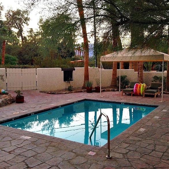 Private casita pool at La Casa Del Zorro (Photo credit: Colleen Lanin)