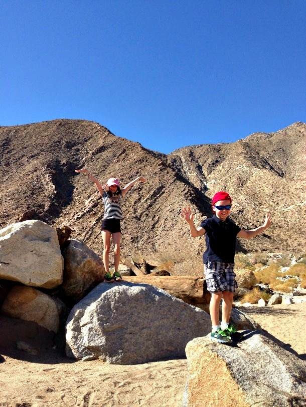 Why Borrego Springs with Kids (Photo credit: Colleen Lanin)