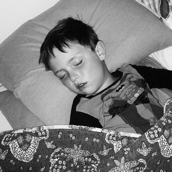 Sleep in on New Year's Day (Photo credit: Colleen Lanin)