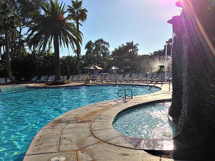One of five pools at Paradise Point Resort (Photo credit: Colleen Lanin)