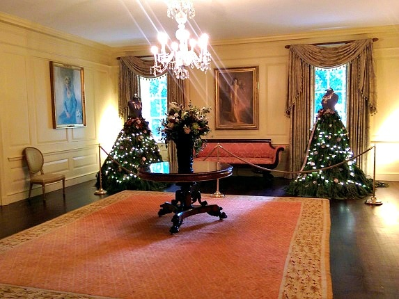 White House Christmas Tour - Vermeil Room