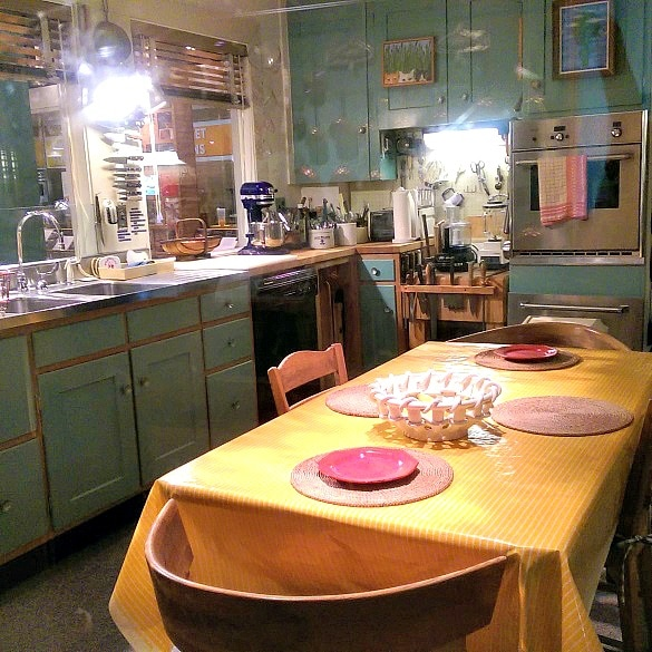Julia Child's kitchen at the Smithsonian - White House Travel Blogger Summit