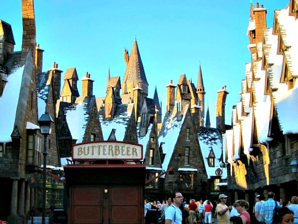 The quaint and book-perfect Hogsmeade Village, Wizarding World of Harry Potter, Universal Orlando