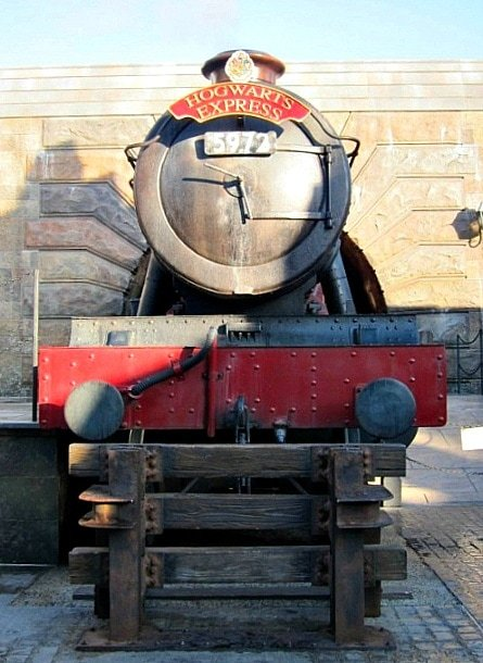 All aboard the Hogwarts Express (Photo credit: Claudia Laroye)
