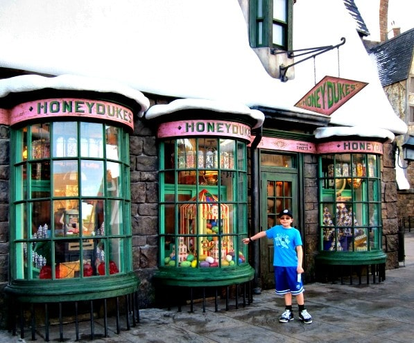 Honeydukes Sweet Shop, complete with Bertie Botts Every Flavor Beans and Lemon Drops, Wizarding World of Harry Potter, Universal Orlando