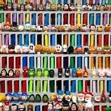PEZ Dispensers at the Burlingame Museum of PEZ Memorabilia