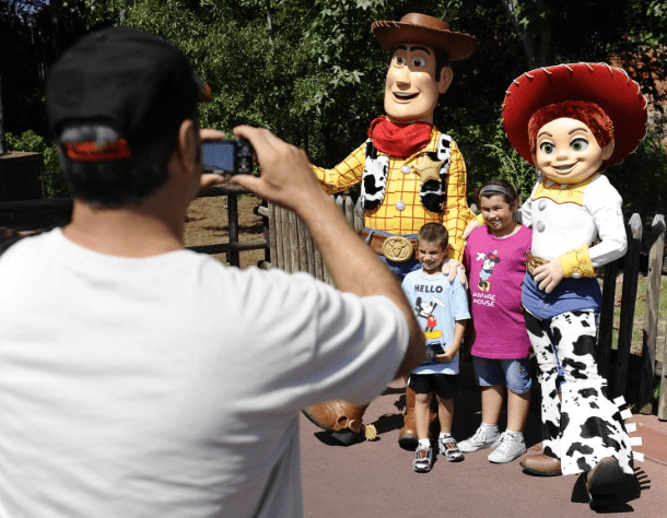 Disney World with children