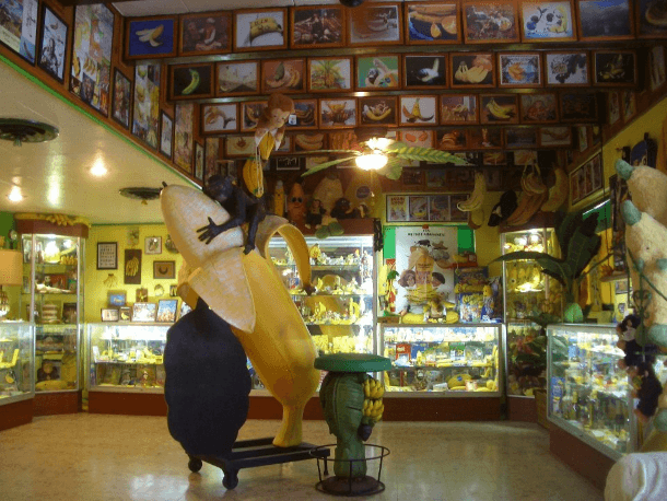 The International Banana Museum celebrates all things banana (Photo from the International Banana Museum Facebook page)