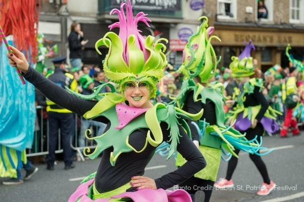 st. patrick's festival parade dublin