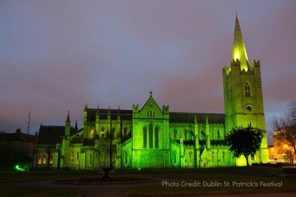 dublin st. patrick's festival greening the city