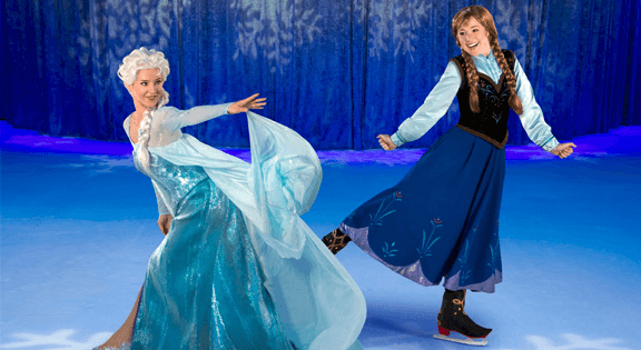 Disney On Ice Frozen with Elsa and Anna