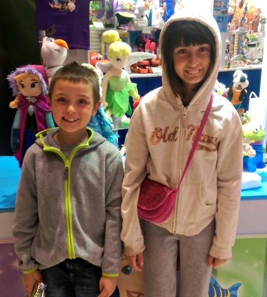 Disney On Ice with Kids tip: Dress warm!