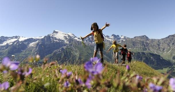 Engelberg, Switzerland is an idyllic Alpine town for adventurous families (Photo credit: MySwitzerland.com)