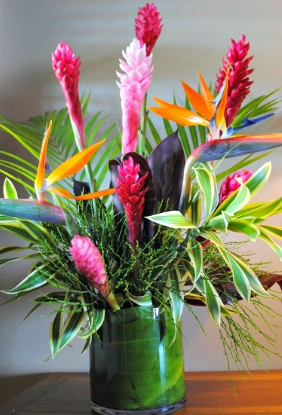 Mother's Day gift idea: A bouquet like this will transport mom to the tropics