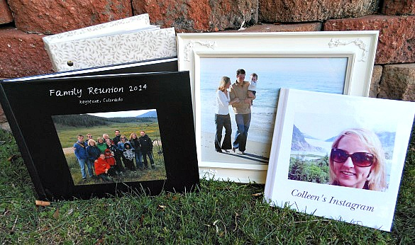 Indulge mom's love of reminiscing over family vacation memories with a photo gift