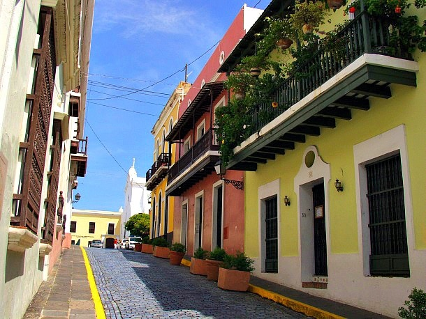 Old San Juan's colorful buildings and cobblestone streets (Photo credit: MConnors, Morguefile.com)