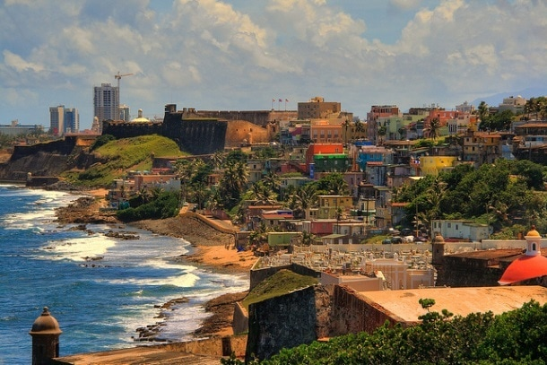 San Juan and La Perla, Puerto Rico (Photo credit: Christopher Rose, Creative Commons 2.0, Flickr)