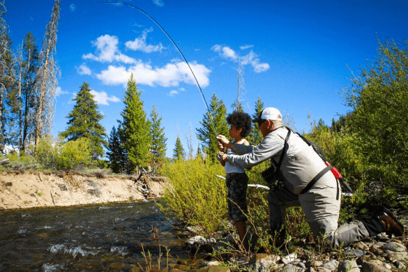 Idaho's plentiful outdoor activities are ideal for multigenerational family vacations (Photo courtesy of Visit Idaho)