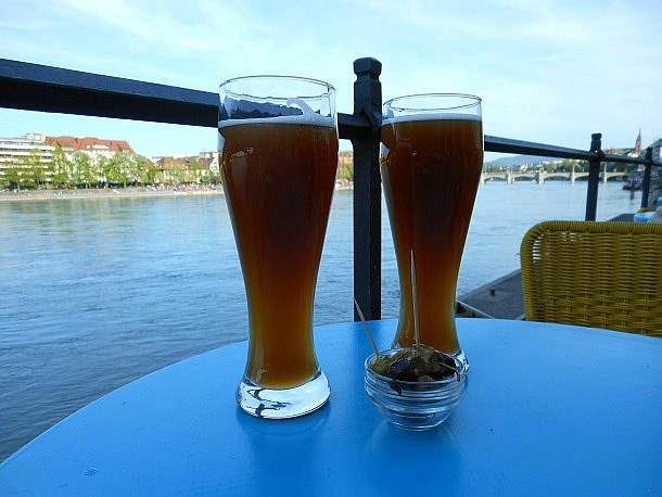 Prost! Enjoy the Rhine River while in Basel, Switzerland.