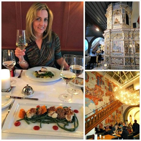 Splurge on a spectacular meal at Restaurant Schlusselzunft