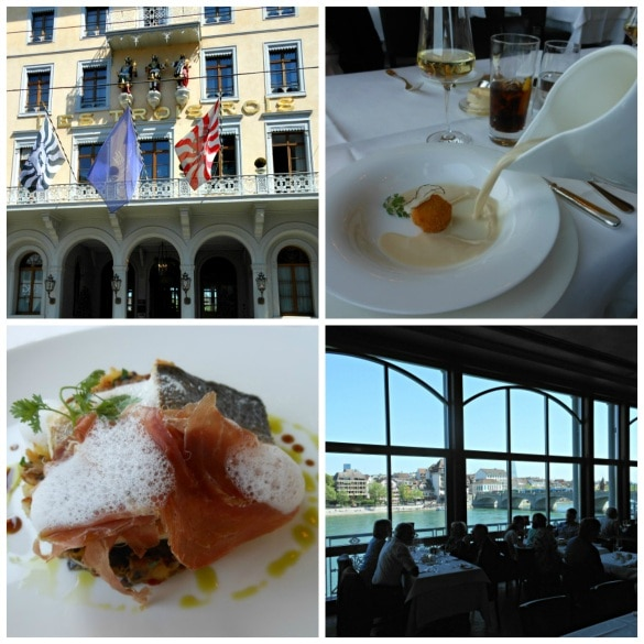 Les Trois Rois is the place to live like royalty in Basel, Switzerland