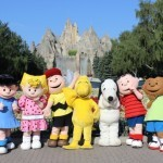 Peanuts characters wander through Canada's Wonderland (Photo credit: Canada's Wonderland)