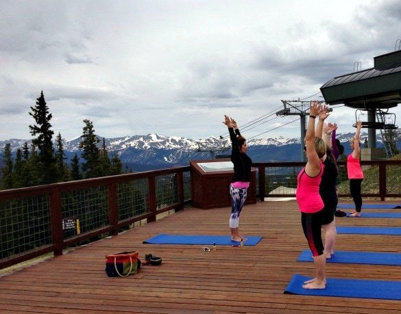 Morning mountaintop yoga with views to awaken your senses