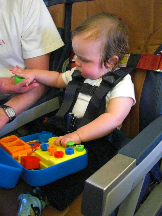 Keep a hidden stash of toys just for travel. This makes packing for the next trip easier and your children will be delighted to be reunited with forgotten toys.