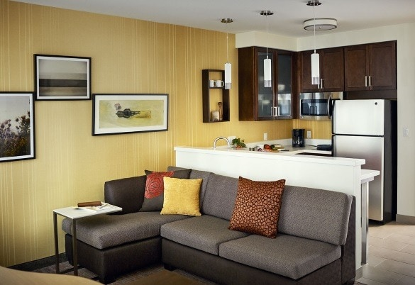 Every Residence Inn suite comes with a fully-equipped kitchen (Photo credit: Residence Inn)