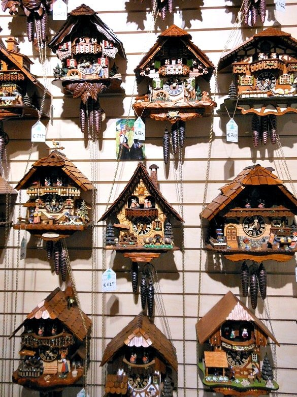 The Black Forest is known for crafting cuckoo clocks