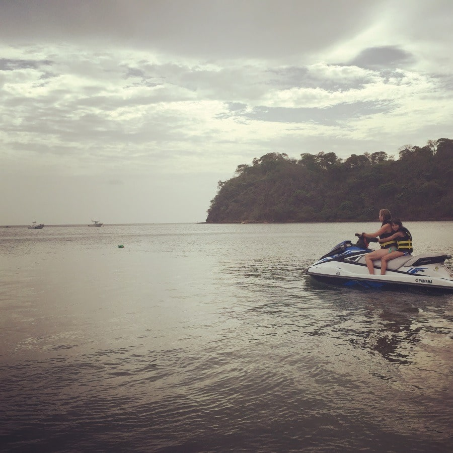 Get your heart pumping aboard a jet ski in Guanacaste, Costa Rica