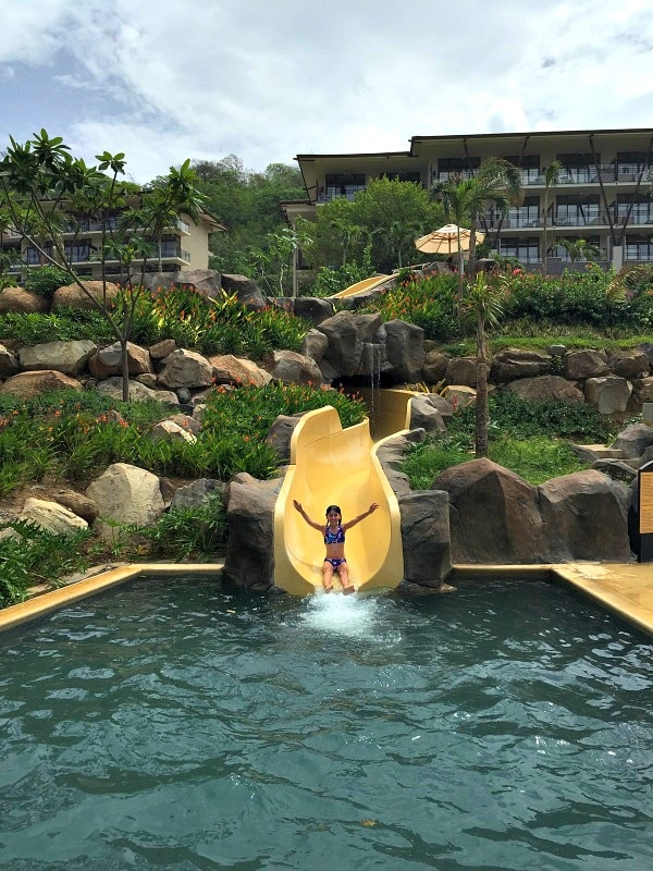 A joy-inducing waterslide at Dreams Las Mareas in Guanacaste, Costa Rica
