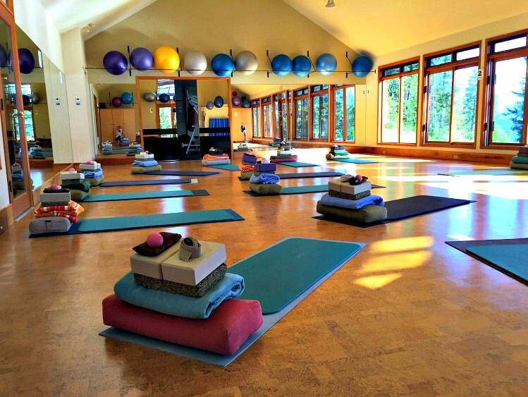 A morning yoga class is the best way to begin the day at Mountain Trek Retreat