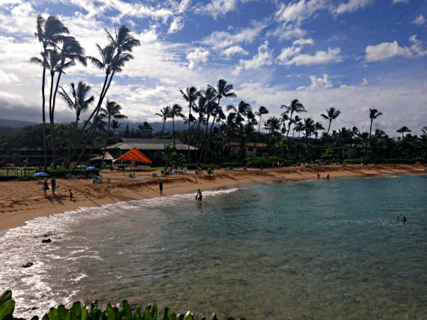 Napili Bay is small, but perfect for families (Photo credit: Jody Robbins)