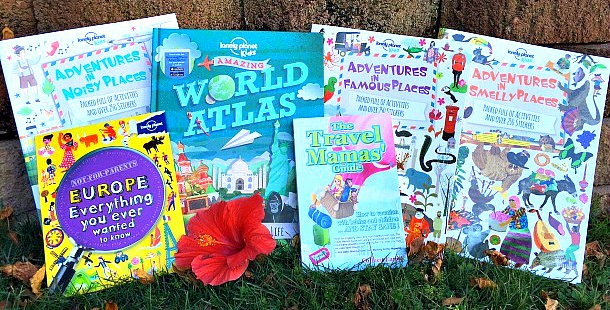 Travel books giveaway for parents and kids. Enter to win ALL of these fabulous books!
